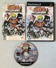 Naruto: Ultimate Ninja (Sony PlayStation 2, 2006) PS2 Complete CIB Black Label