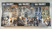 Call of Duty Mega Construx Lot Special Forces Black Ops, Desert Snipers NEW