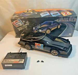 Pepsi Pontiac Firebird Trans-AM Radio Control Car RC WORKS In Box 1984 Nikko