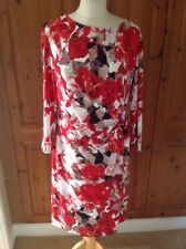 STYLISH EPISODE MULTICOLOURED WRAP STYLED DRESS UK SIZE L (16-18) NWOT