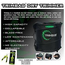 ORIGINAL TRIMBAG V2 Crop Dry Trimmer + FREE SCISSORS - Trimming, USA, Hydroponic