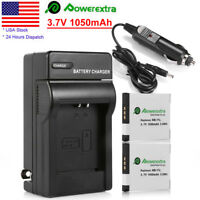 2X NB11L Replaced Battery+Charger For Canon PowerShot ELPH 110 HS ELPH 115 IS