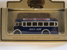 LLEDO LP17 095B 1932 AEC REGAL SINGLE DECK BUS - DAN AIR - LONDON to INVERNESS