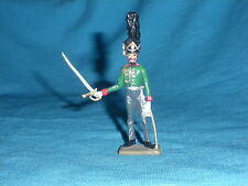 482A Starlux Atlas Figurine Plomb Empire Officier Prussien 1/32 Napoleon