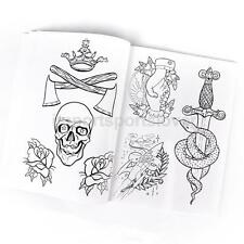 Tattoos Flash Design Book Traditional Sketch Art Ink Supply