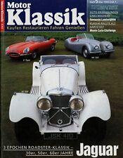Motor Klassik 5/93 1993 Autobianchi A112 Jaguar SS100 XK120 E-Type VW Käfer 1303