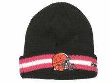 BUBBA VENTRONE SIDELINE WORN & SIGNED OFFICIAL CLEVELAND BROWNS BCA BEANIE HAT