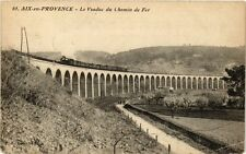CPA AIX-en-PROVENCE - Le Viaduc du chemin de fer (213568)