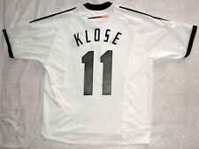 KLOSE camiseta Alemania Adidas Mundial 2002 trikot Deutschland jersey Germany