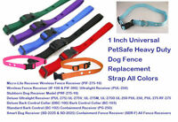 """Sparky PetCo 1"""" Univ. PetSafe Heavy Duty Dog Fence Replacement Strap All Colors"""