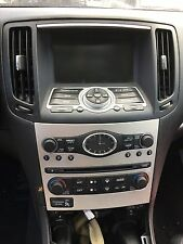 2008 08 INFINITI G35 4dr Sedan Stereo Radio Climate Control And Screen