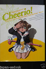 JAPAN Card Captor Sakura Animation art book Cheerio 1 clamp