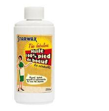starwax VERITABLE HUILE PIED DE BOEUF 100% pure Entretien CUIR 250 ml