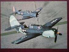 POSTCARD AIR CURTISS SB2C-4 HELLDIVER BOMBER
