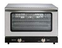 Heavy Duty Half Size Countertop Convection Oven, 1.5 Cu. Ft. - 120V 1600W ETL