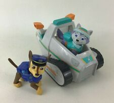 Paw Patrol Everests Rescue Snowmobile Vehicle 3pc Lot Chase Toy Spin Master