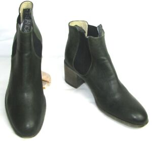 FREE LANCE - Boots Lady Horse Riders Heels 6 CM Leather Khaki Dark 39 - Very