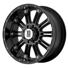 20 Inch Black Rims Wheels Chevy Silverado 1500 Avalanche GMC Sierra 4 XD Series