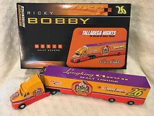 Talladega Nights The Ballard of RICKY BOBBY  Laughing Crown Hauler 1:64 NEW