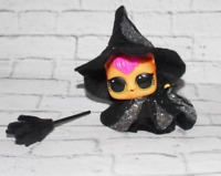 LOL Doll Clothes for LOL Pup Pet, Pet Cat - nice silver Witch Halloween Dress