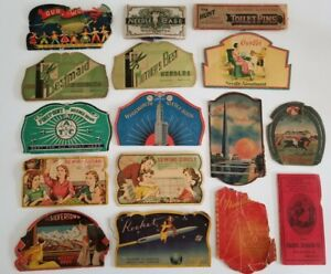 Vintage Needle Book Lot Art Deco Retro Illustration People World's Fair Ephemera