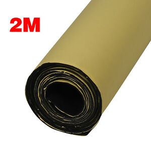 2m Roll Car Sound Proofing Deadening Van Insulation Closed Cell Foam 3mm Thick