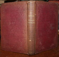 1852 Letters Of Richard Reynolds Signed Martha PEASE Quaker Friends Mary Aggs