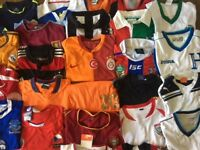 Mens Vintage Soccer/Football/Rugby Tops/Shirts/Jackets *Various Sizes*