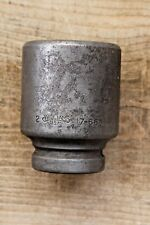 """WILLIAMS 17-664 2"""" HEAVY DUTY IMPACT SOCKET 1"""" DRIVE 6 POINT MADE IN USA VINTAGE"""