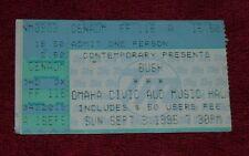 BUSH Ticket Stub Omaha NE Sept. 3 1995 RARE Ticketmaster Gen. Adm.