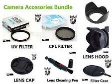 FK85u CPL UV Filter + Lens Hood + Lens Cap + LensPen for Kodak AZ521 AZ525 AZ651