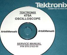 TEKTRONIX Operating & Service Manual for 475A Oscilloscope