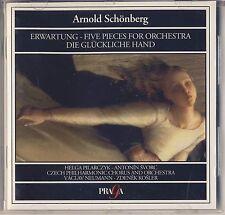 Schonberg: Erwartung/5 Pieces For Orchestra/Die Gluckliche Hand (Praga) Like New