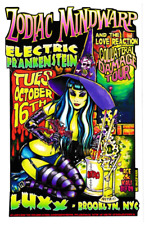 ZODIAC MINDWARP VINYL STICKER JOHNNY ACE STUDIOS WITCH POTIONS HARD ROCK GLAM