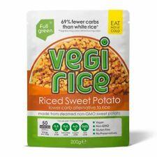 Fullgreen Vegi Rice Riced Sweet Potato 200g (Pack of 8)