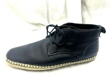 RJ Colt Mens Percival black chukka ankle laceup casual boots shoes sz 10.5M