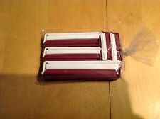 Pampered Chef Twixit Clip Combo Pack New Set Of 10 Cranberry And White DW Safe