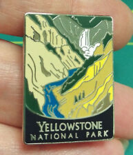New Traveler Series Pin Yellowstone National Park Wyoming Tie Tac Lapel Pin