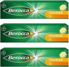 Berocca Orange Flavour 3 x 15 Count