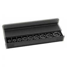 Bosch Steckschlüsseleinsätze-Set, 9-teilig, L 38 mm, SW 10 - SW 27