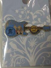 Hard Rock Cafe Barcelona Pin Street 2 Sanctuary Guitar Pin 2012 LE500 #89767