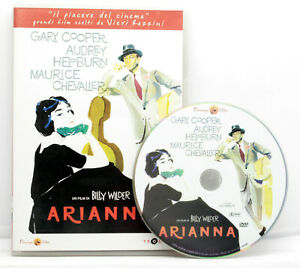 BILLY WILDER ARIANNA G,COOPER A.HEPBURN COMMEDIA DVD ED. ITALIANA VBC 70904