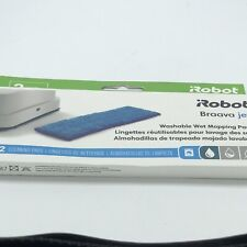IRobot Braava Jet Washable Wet Mopping Pads 2 Cleaning Pads. New