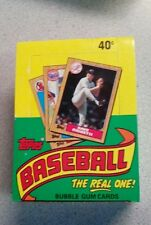 1987 Topps Baseball Wax Box - 36 Packs - Unopened Unsearched