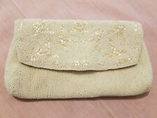 Vintage Pearl And Bead Purse 1960