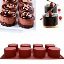 Silicone Cupcake Muffin Chocolate Cake Mold Candy Cookie Baking Mould Pan Tools