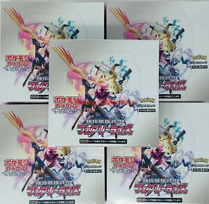 Fairy Rise Pokemon Japanese Booster Box Pack Factory Sealed - USA Seller