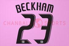Beckham #23 2008-2012 LA Galaxy Homekit Nameset Printing