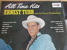 ERNEST TUBB - All Time Hits. 1969 LP Coral CPS36