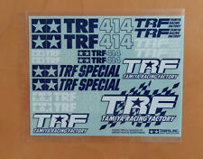 RC Tamiya Decal 49132 TRF414 RC Chassis Kit 2000 NEU NIB